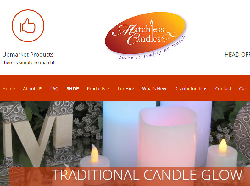 Matchless Candles
